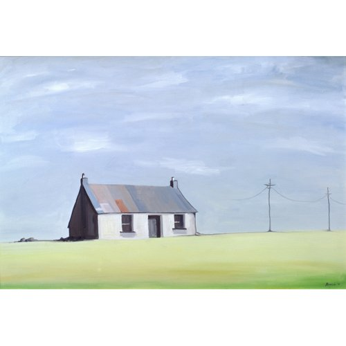 Cuadro -This Old House (oil on canvas)-