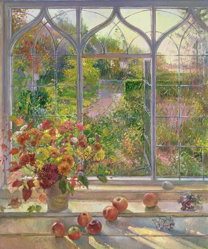 cuadros-para-comedor - Cuadro -Autumn Windows, 1993- - Easton, Timothy