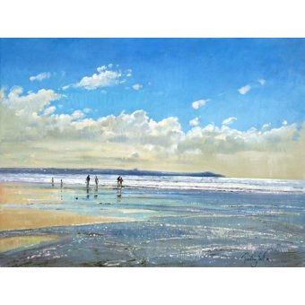 - Cuadro -Paddling at the Edge (oil on canvas) - - Easton, Timothy