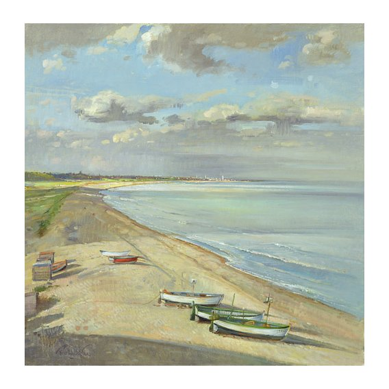 Cuadro - Towards Southwold -