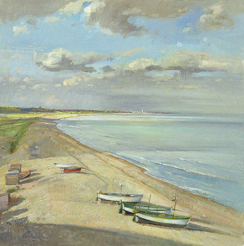 cuadros-de-marinas - Cuadro - Towards Southwold - - Easton, Timothy