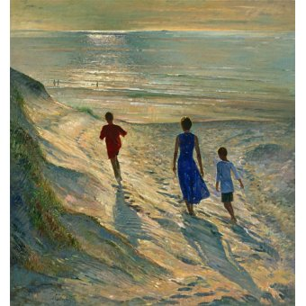 - Cuadro - Beach Walk, 1994 - - Easton, Timothy
