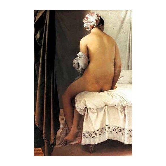 cuadros de retrato - Cuadro -La bañista de Valpincon, 1808-