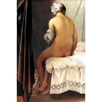 cuadros de retrato - Cuadro -La bañista de Valpincon, 1808- - Ingres, Jean-Auguste-Dominique