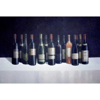 cuadros de bodegones - Cuadro -Winescape, 1998 - - Seligman, Lincoln