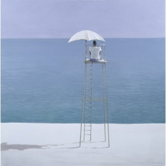 cuadros de marinas - Cuadro - Beach Guard, 2004 - - Seligman, Lincoln
