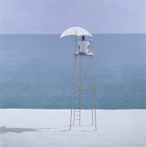 cuadros-decorativos - Cuadro - Beach Guard, 2004 - - Seligman, Lincoln