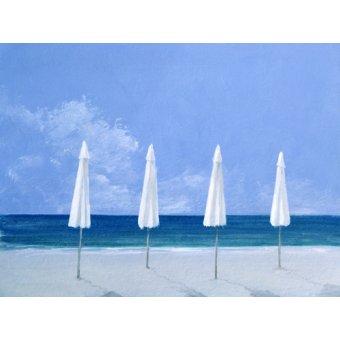 cuadros de marinas - Cuadro - Beach Umbrellas, 2005 - - Seligman, Lincoln