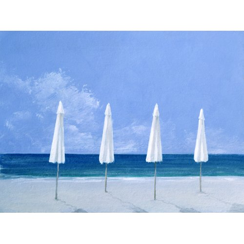 Cuadro - Beach Umbrellas, 2005 -