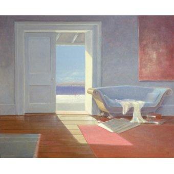 cuadros de marinas - Cuadro - Beach House, 1995 - - Seligman, Lincoln