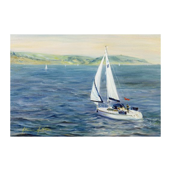 Cuadro - Sailing Home, 1999 -