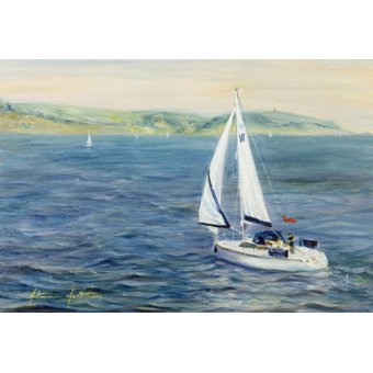 - Cuadro - Sailing Home, 1999 - - Myatt, Antonia