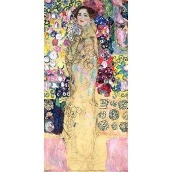 - Cuadro -Retrato de Maria Munk, (1917-18)- - Klimt, Gustav