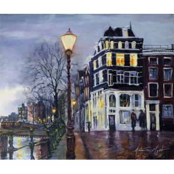 - Cuadro - At Dusk, Amsterdam, 1999 - - Myatt, Antonia