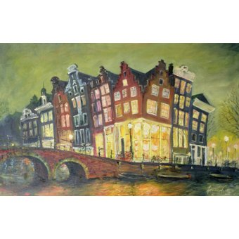 - Cuadro - Bright Lights, Amsterdam, 2000 - - Myatt, Antonia