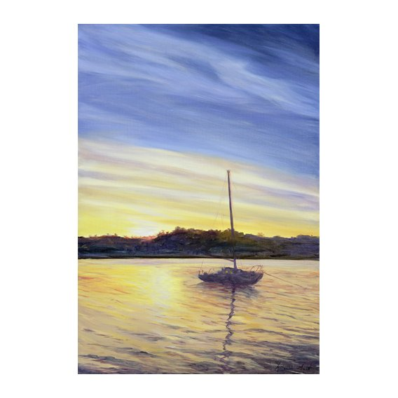 Cuadro - Boat at Rest, 2002 -
