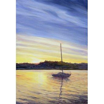 cuadros de marinas - Cuadro - Boat at Rest, 2002 - - Myatt, Antonia