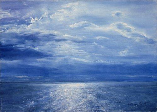cuadros-de-marinas - Cuadro - Deep Blue Sea, 2001 - - Myatt, Antonia