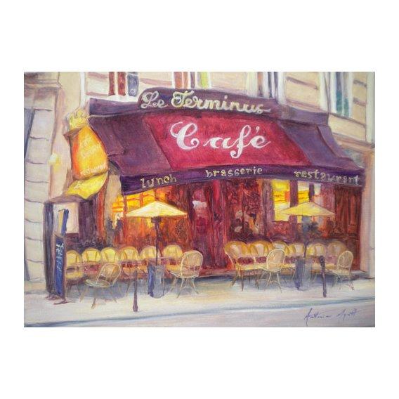 Cuadro - Cafe le Terminus, 2010 -