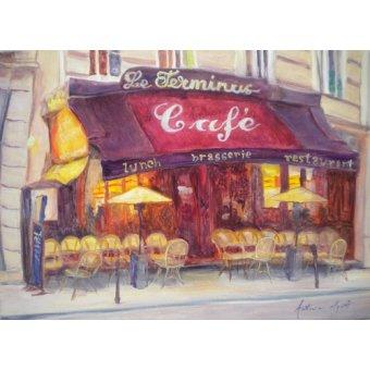 - Cuadro - Cafe le Terminus, 2010 - - Myatt, Antonia