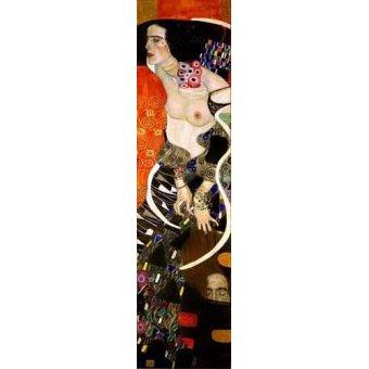 cuadros de retrato - Cuadro -Judith 2 (Salomé)- - Klimt, Gustav