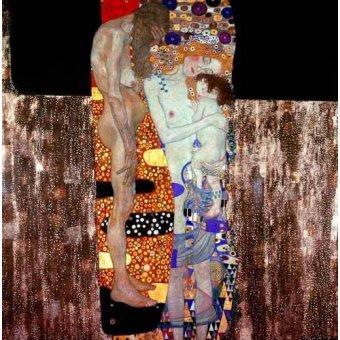 - Cuadro -Las tres edades de la vida- - Klimt, Gustav