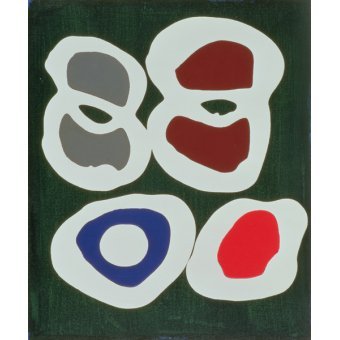 cuadros abstractos - Cuadro -Cross-Cut, 1998 (acrylic on canvas) - - Booth, Colin