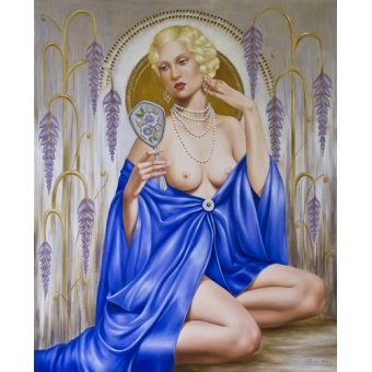 - Cuadro -Rhapsody in Blue (oil on canvas)- - Abel, Catherine