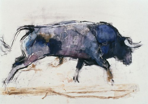 cuadros-para-salon - Cuadro -Charging Bull, 1998 - - Adlington, Mark
