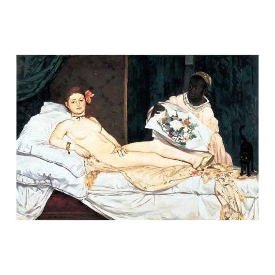 cuadros de retrato - Cuadro -Olympia, 1863-
