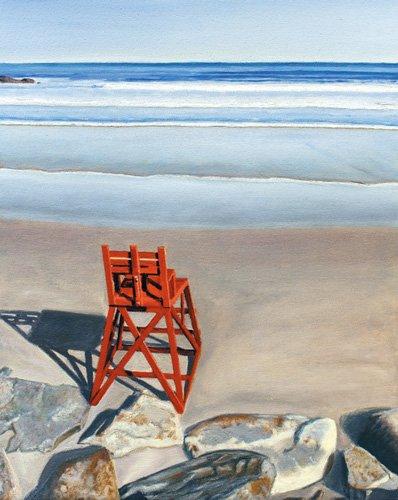 cuadros-de-marinas - Cuadro - Rock Star, 2014, oil on canvas - - Arsenault, David