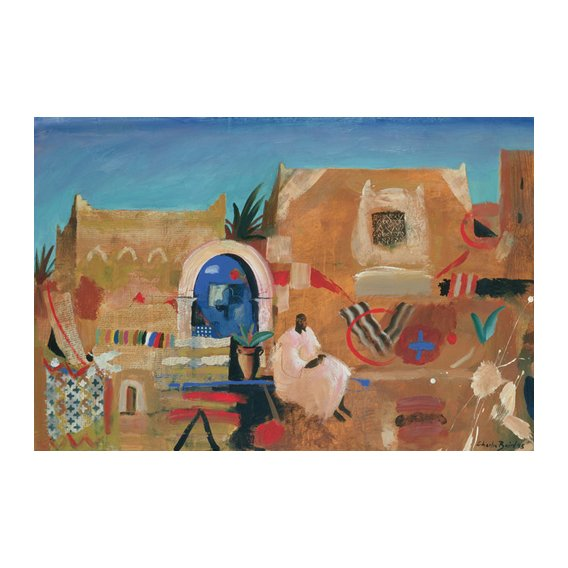 Cuadro -Kasbah Sound, 1995 (oil on canvas) -