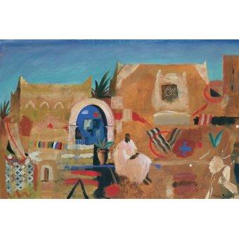 cuadros de paisajes - Cuadro -Kasbah Sound, 1995 (oil on canvas) - - Baird, Charlie
