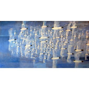 - Cuadro -Migrate (oil on canvas)- - Baird, Charlie