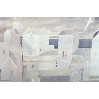 cuadros de paisajes - Cuadro -Cactus Window, 2008 (oil on board)- - Baird, Charlie