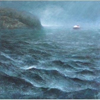 cuadros de marinas - Cuadro -Ferry, 2016 (oil on canvas)- - Baird, Charlie