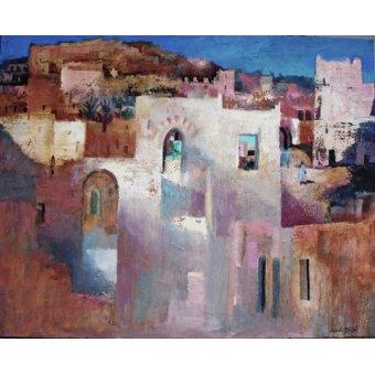 cuadros de paisajes - Cuadro -Moroccan, 2015 (oil on canvas)- - Baird, Charlie