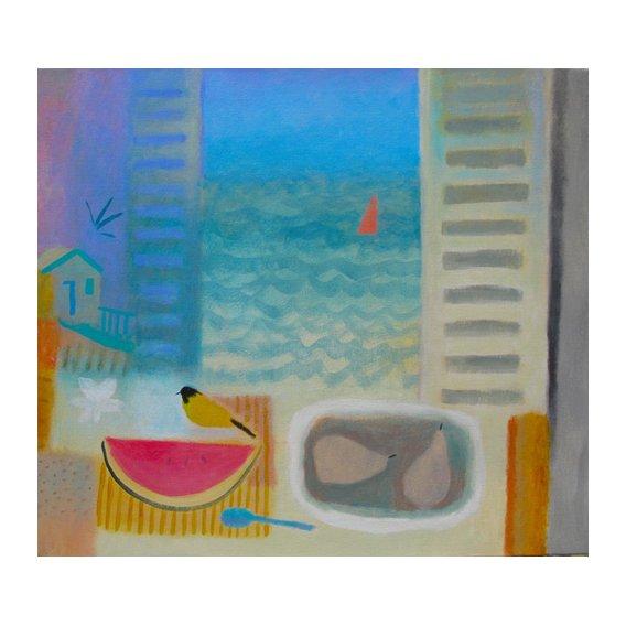 Cuadro -Watermelon, 2016 (oil on canvas)-