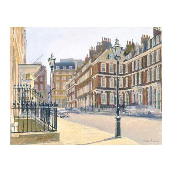 Cuadro -Queen Anne's Gate (oil on canvas)-