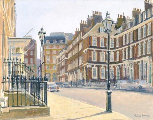 cuadros-modernos - Cuadro -Queen Anne's Gate (oil on canvas)- - Barrow, Julian