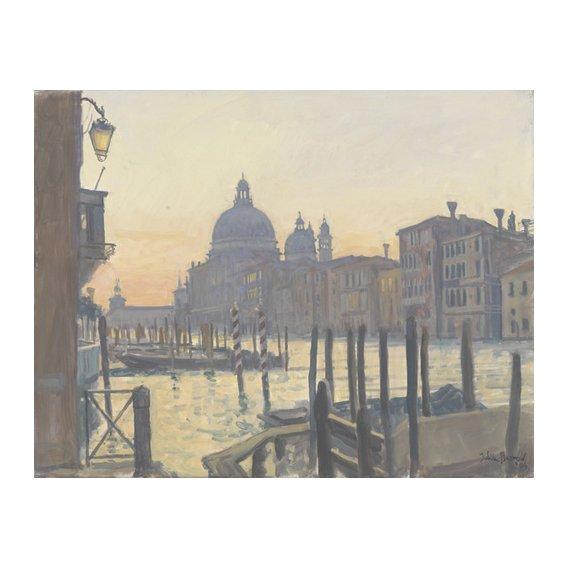 Cuadro -Sunrise Grand Canal, 2009 (oil on canvas)-
