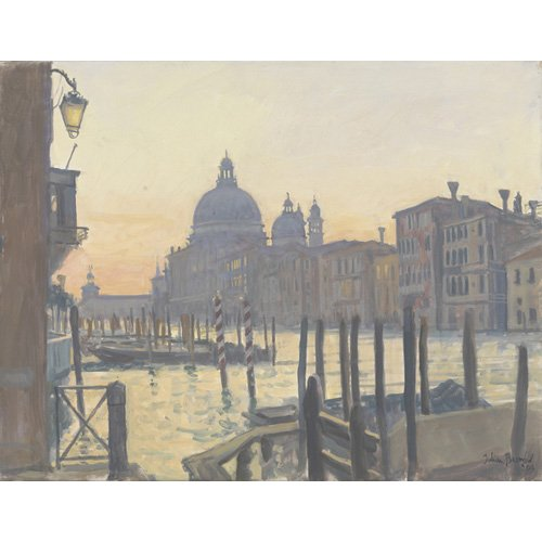 Cuadro -Sunrise Grand Canal, 2009 (oil on canvas)-