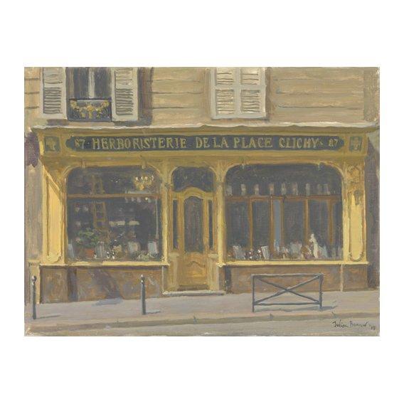 Cuadro -Herboristerie de la Place Clichy, 2010 (oil on canvas)-