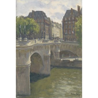 cuadros modernos - Cuadro -Pont Neuf, 2010 (oil on canvas)- - Barrow, Julian
