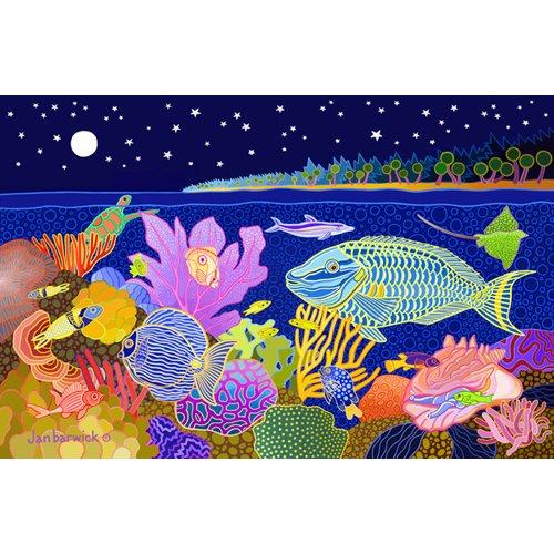 Cuadro -Midnight Mazurka, 1998, acrylic gouache on canvas-