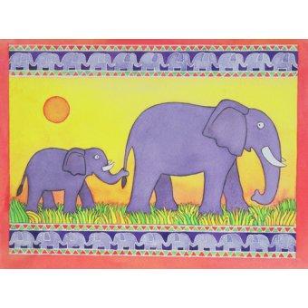 - Cuadro -Elephants- - Baxter, Cathy