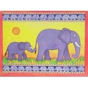 Cuadro -Elephants-