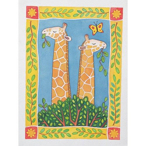 Cuadro -Giraffes-