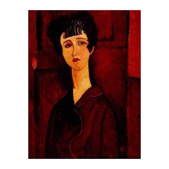 cuadros de retrato - Cuadro -Retrato de una chica-