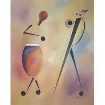 cuadros abstractos - Cuadro -Congo- - Beckford, Ikahl